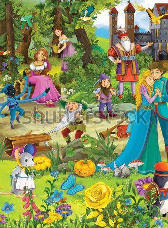 Каталог Картина сказочные герои: Детские | Wall-Style