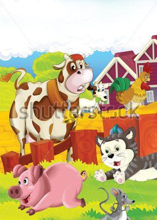 Каталог Картина ферма: Детские | Wall-Style