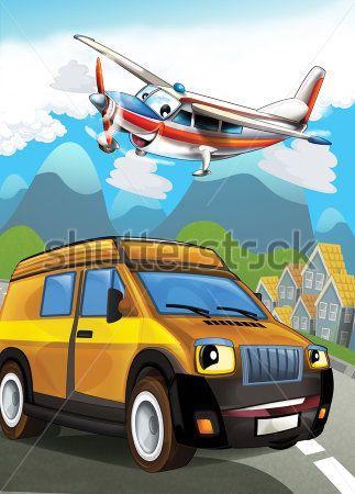 Каталог Фотообои машина и самолет:  | Wall-Style