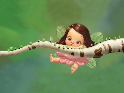 Каталог Фотообои маленькая фея:  | Wall-Style