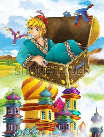 Каталог Картина сказочный герой: Детские   Wall-Style