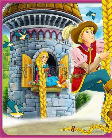 Каталог Картина рапунцель: Детские   Wall-Style