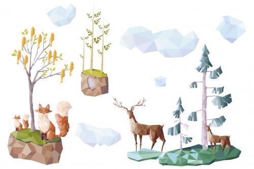 Каталог Картина лес: Детские   Wall-Style