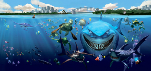 Каталог Картина подводная братва: Детские | Wall-Style