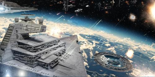 Каталог Картина космический корабль: Детские   Wall-Style