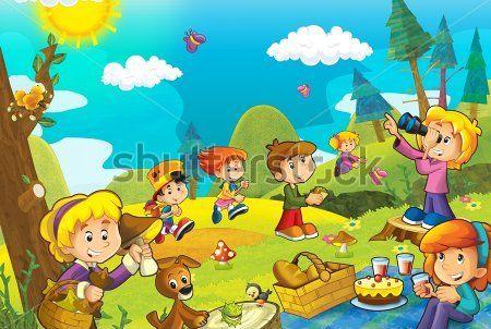 Каталог Картина пикник: Детские   Wall-Style