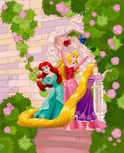 Каталог Картина принцессы диснея: Детские | Wall-Style