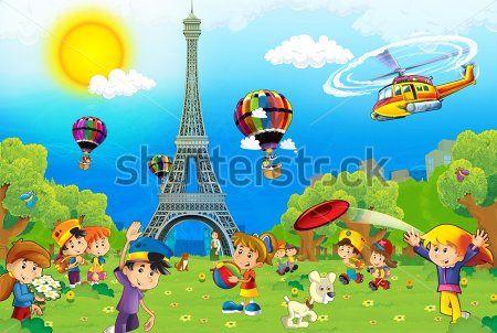 Каталог Картина детский париж: Детские | Wall-Style