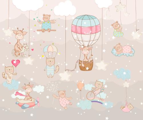 Каталог Картина милые животные: Детские   Wall-Style