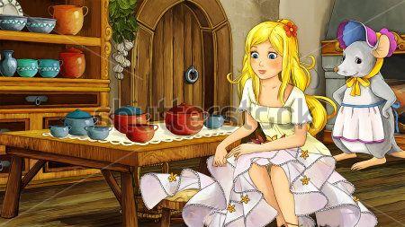 Каталог Картина дюймовочка в доме: Детские | Wall-Style