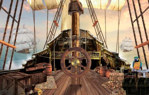 Каталог Картина палуба корабля: Детские | Wall-Style