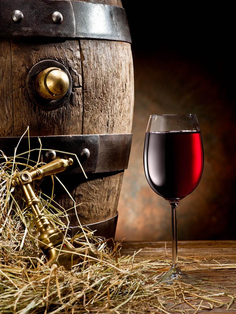 Бочка с вином